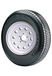 ST185/80R13 Carlisle Radial Trail RH Trailer Tire and Wheel (LRC) (5 Lug)