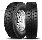225/70R19.5 Double Coin RSD3 Severe Winter Truck Tire (14 Ply)