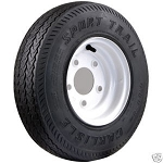 16.5x6.5-8 Carlisle Sport Trail Trailer Tire and Wheel (LRC) (5 Lug)