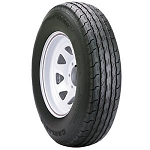 ST215/75D14 Carlisle Sport Trail LH Trailer Tire and Wheel (LRC) (5 Lug)