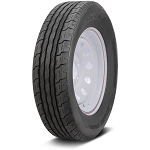 ST205/75D15 Carlisle Sport Trail LH Trailer Tire and Supreme Wheel (LRC) (5 Lug)