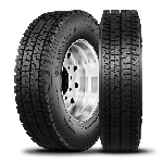 11R22.5 Double Coin RSD1 Severe Winter Truck Tire (16 Ply)