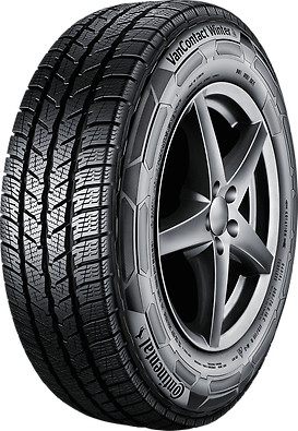 235 65r16c Continental Vancontact Winter Tire 112 119r