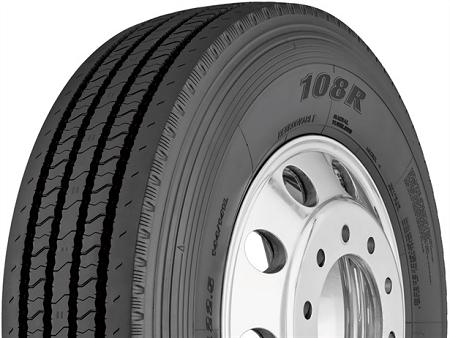 295  75r22 5 Yokohama 108r Commercial Truck Tire  16 Ply
