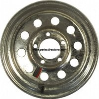 13x4.5 Carlisle Galvanized Trailer Wheel (5 Lug)