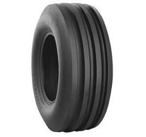 9.5L15 Firestone Champion Guide Grip 4-Rib F-2 Front Tractor Tire (8 Ply) (TL)