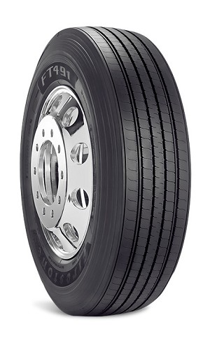 11R24.5 Firestone FT491 Commercial Truck Tire (14 Ply)