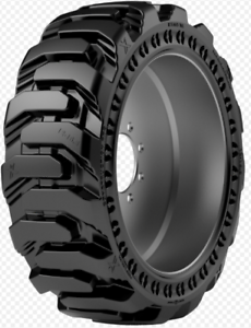 10x16.5 XD Maxam MS705 R4 Solid Skid Steer Tire (Right)