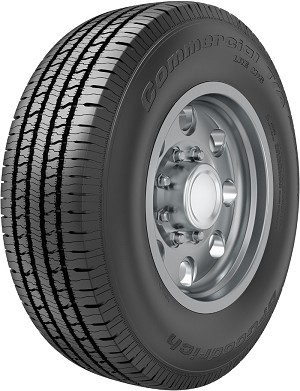 LT245/75R17 BF Goodrich Commercial T/A All Season 2 Light Truck Tire (121R)