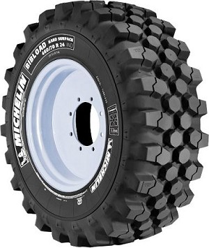 500/70R24 Michelin Bibload Hard Surface Radial Tire (19.5L24)