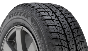 225/40R18 Bridgestone Blizzak WS80 Winter Tire (92H)