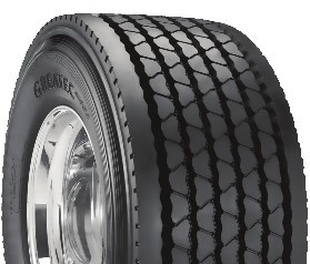 455/55R22.5 Bridgestone Greatec M835 Commercial Truck Tire (22 Ply)