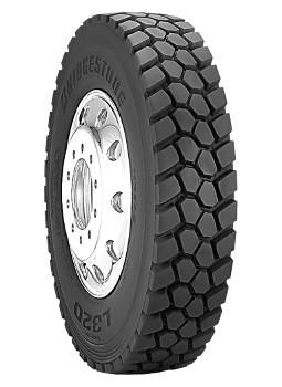 12R22.5 Bridgestone L320 Commercial Truck Tire (14 Ply)