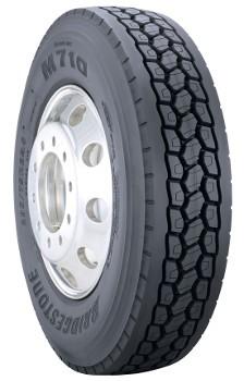 11r24 5 Bridgestone M710 Ecopia Commercial Truck Tire 14 Ply