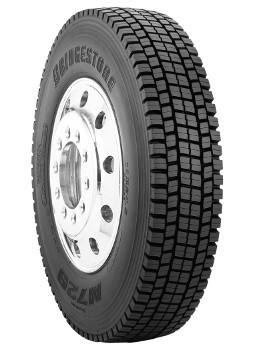 225/70R19.5 Bridgestone M729F Commercial Truck Tire (12 Ply)