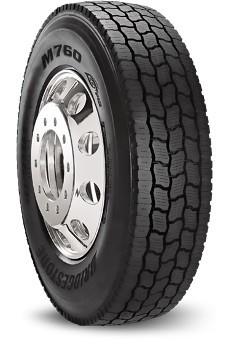 Truck Mud Tires >> 295/75R22.5 Bridgestone M760 Ecopia Commercial Truck Tire ...