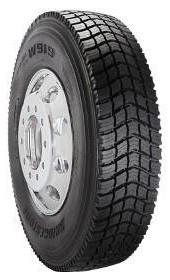 295/75R22.5 Bridgestone W919 Commercial Truck Tire (16 Ply)
