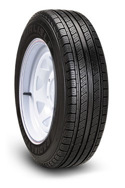 ST175/80R13 Carlisle Radial Trail HD Trailer Tire and Wheel (LRC) (5 Lug)