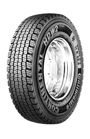 315/80R22.5 Continental HDW2 Commercial Truck Tire (20 Ply)
