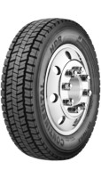 265/70R19.5 Continental HDR Commercial Truck Tire (16 Ply)