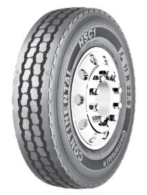 12R24.5 Continental HSC1 Commercial Truck Tire (16 Ply)