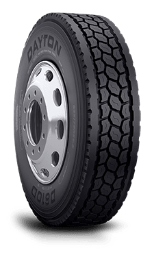 Truck Mud Tires >> 11R24.5 Dayton D610D Commercial Truck Tire (16 Ply)