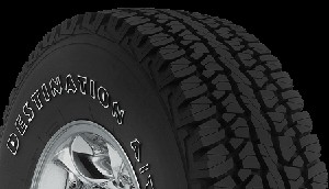 P255/70R16 Firestone Destination A/T SUV and Light Truck Tire (109S)