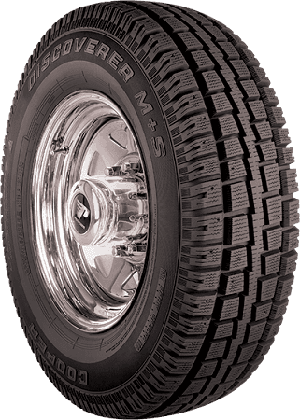LT235/80R17 Cooper Discoverer M+S Light Truck Tire