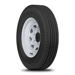 ST205/75R15 Duraturn ST Radial Trailer Tire (LRD)