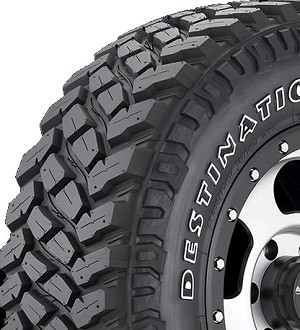 LT33x12.50R15 Firestone Destination M/T2 Light Truck Tire