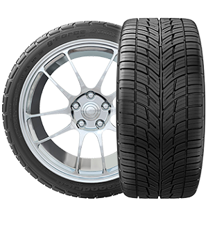 235/45R17 XL BFGoodrich g-Force COMP-2 A/S Tire (94W)