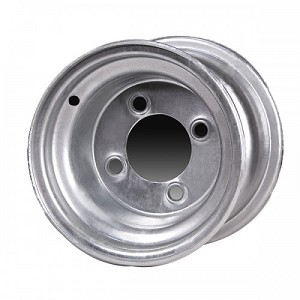 10x6 Carlisle Galvanized Trailer Wheel (4 Lug)