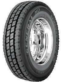 11R24.5 General HD Commercial Truck Tire (16 Ply)