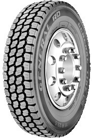 285/75R24.5 General RD Commercial Truck Tire (14 Ply)
