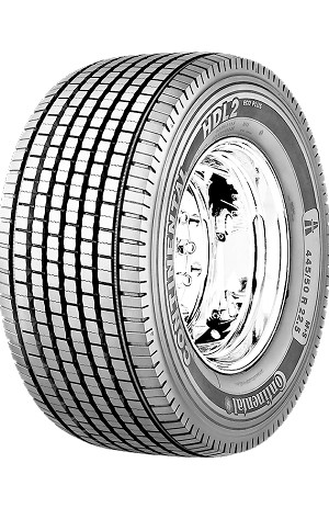 445/50R22.5 Continental HDL2 EcoPlus Commercial Truck Tire (20 Ply)
