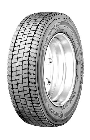 225/70R19.5 Continental Hybrid HD3 Commercial Truck Tire (14 Ply)
