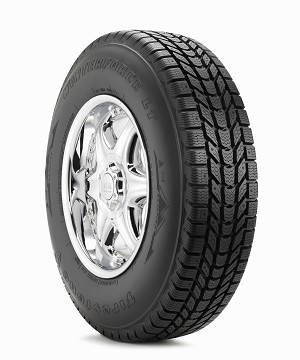 LT245/75R17 Firestone Winterforce LT Snow Tire (LRE)