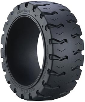 21x7x15 Trelleborg Monarch Press On Solid Forklift Tire (Mono Grip) (Non-Marking)