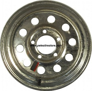 14x6 Greenball Galvanized Trailer Wheel (5 Lug)