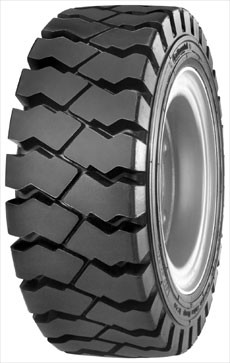 23x9-10 Continental IC40 Deep Tread Radial Forklift Tire (225/75-10) (20 Ply) (TT)