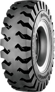 6.00R9 Continental IC80 Deep Tread Radial Forklift Tire (12 Ply) (TT)