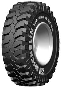 335/80R18 Michelin XZSL Radial Skid Steer Tire (TL)
