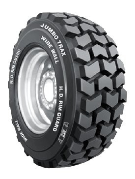10-16.5 BKT Jumbo Trax HD Skid Steer Tire (10 Ply) (TL)