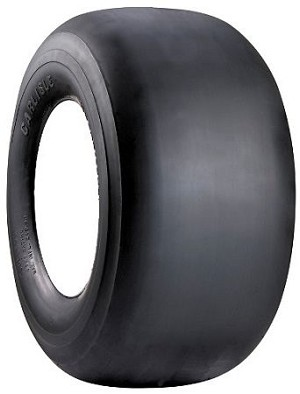 9x3.50-4 Carlisle Smooth Tire (4 Ply)