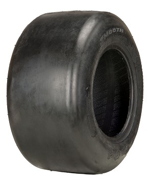11x4.00-5 OTR Turf Smooth Lawn Tractor Tire (4 Ply)