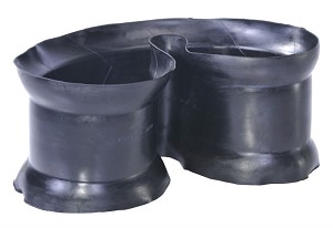 15x7.4 Tire Flap (Center Valve)