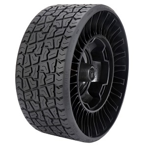 26x12-12 Michelin X Tweel Turf Radial Tire and Wheel (5 Lug) (-2.2 Offset)
